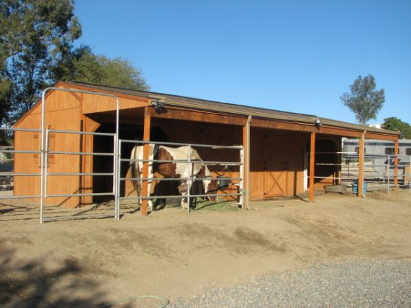 Horse Shed Plans Guide Sanglam