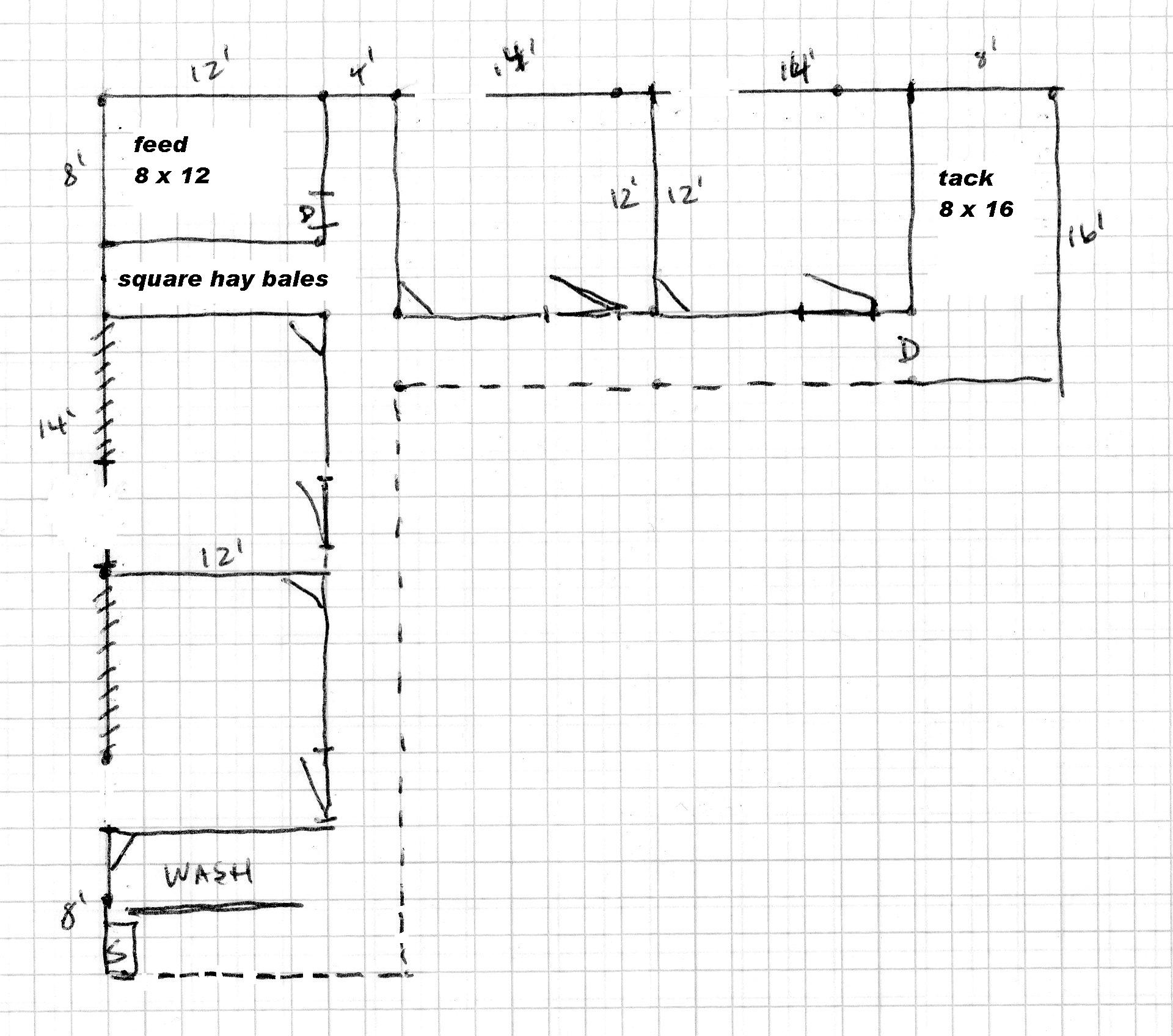 Barn shaped shed plans gambrel